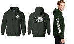Lion Brewery Green Hooded Sweatshirts