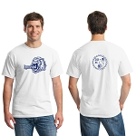Lion Brewery Heavy Cotton™ 100% Cotton T-Shirt (Blue Logo)