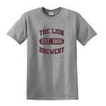 Lion Brewery Grey Heavy Cotton 100% T-Shirt